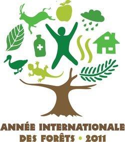 logo officiel 2011 année Internationale des forêts
