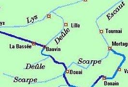 La Scarpe et la Deule dans Canaux scarpedeule
