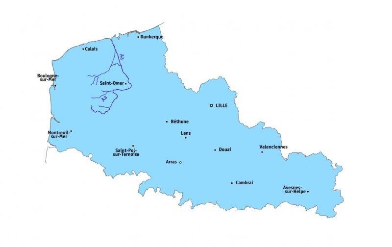carte Aa fleuve