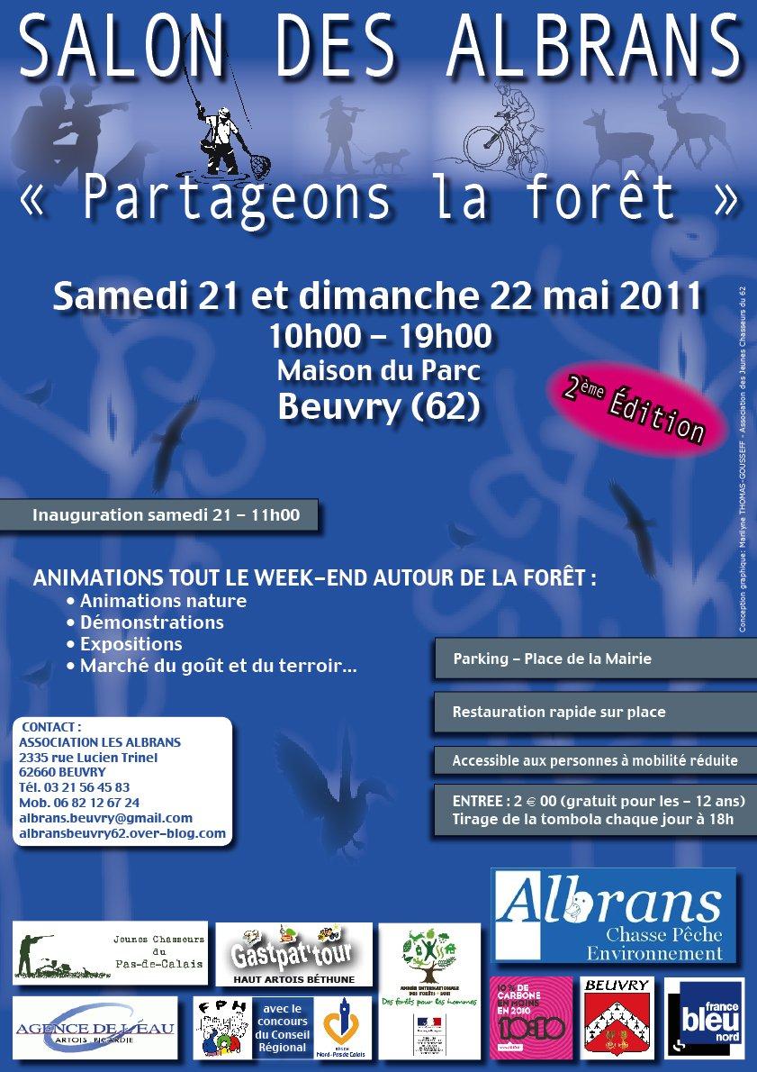 Salon sur le thème de la forêt dans le Pas de Calais dans Agenda affichesalonalbrans2011