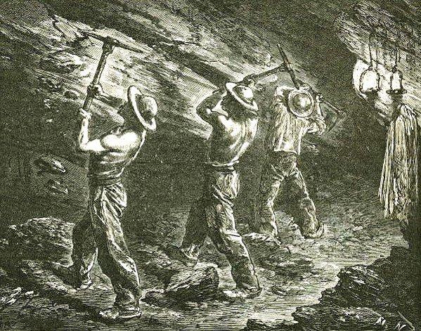 Historique du régime minier dans Bassin minier mineurs