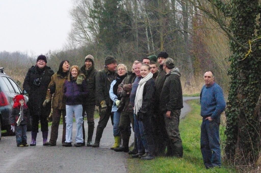 Le froid de canard n'a pas découragé les Albrans dans Eau groupe-albrans-24-03-2013