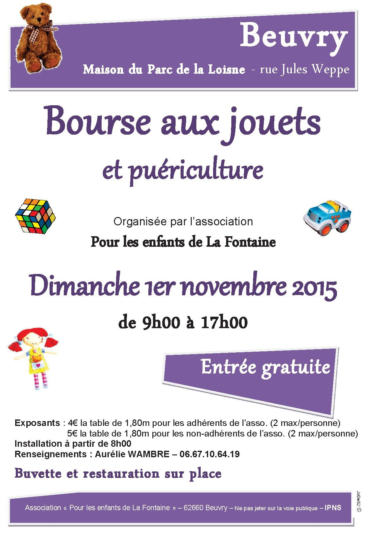 beuvry bourse aux jouets 2015
