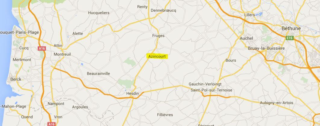 Un peu d'Histoire locale dans Culture azincourt-carte